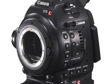 Rent: Canon EOS C100 w/ Nikon zoom lens and extra battery