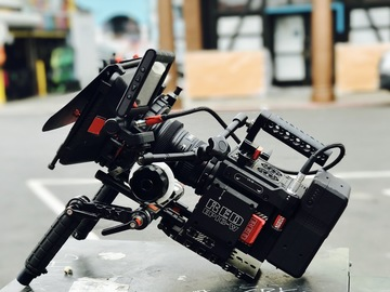 Red Epic-W Full kit lenses, memory, sticks, shoulder rig