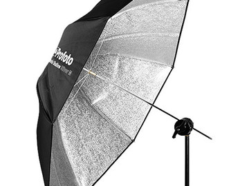 Rent: PROFOTO | UMBRELLA | SILVER | MEDIUM SHALLOW
