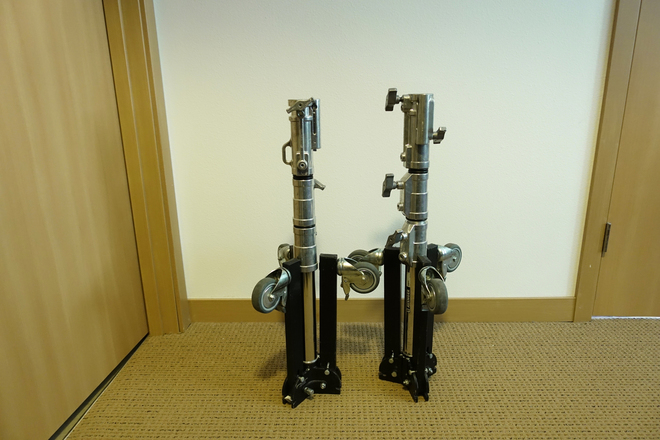 (2) Avenger Roller Stand 12 with Folding Base
