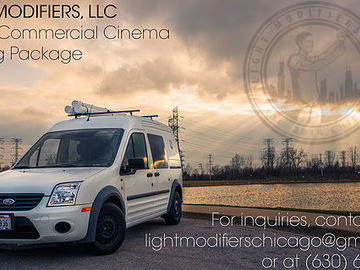 Light Modifiers Grip Van package- Compact, Carted, Crated