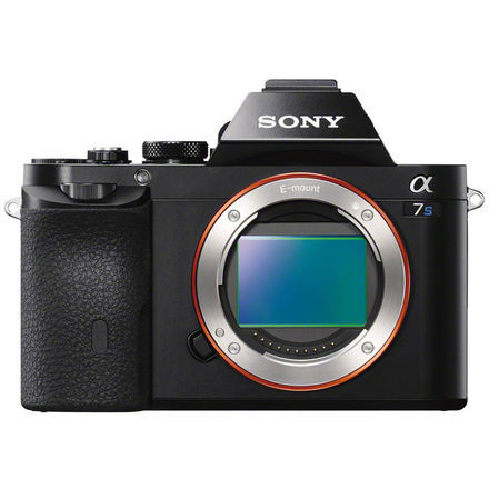 Sony A7S W/ Wooden Camera PL Mount and Canon Mount