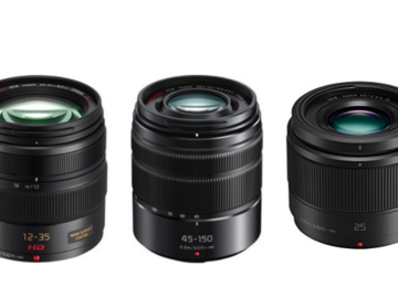 Rent: Panasonic Lens Kit