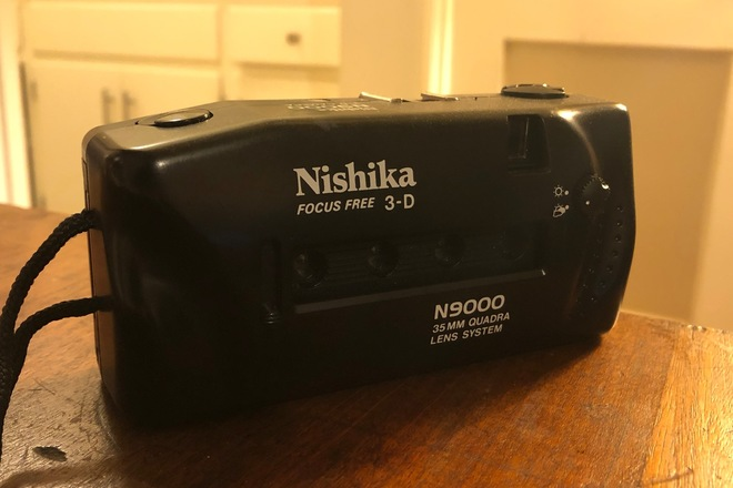 Nishika N9000 35mm 3D camera