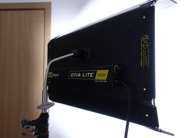 Rent: Kino Flo Diva-Lite 400 Kit