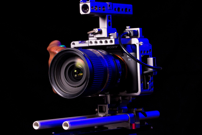 Sony a7S II w/ Tilta Cage + 24-70 Lens + Dovetail Plate