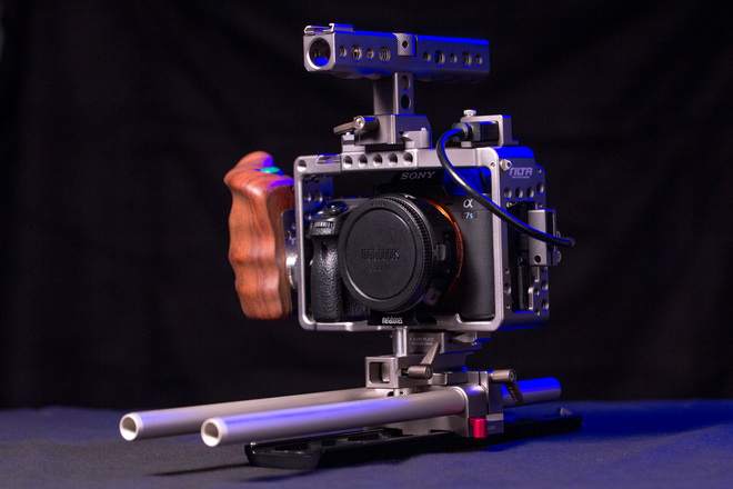 Sony a7S II w/ Tilta Cage + Dovetail Plate