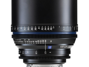 Rent: Zeiss CP.2 100mm T2.1 (1 of 2)