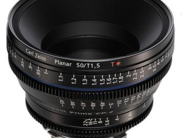 Rent: Zeiss CP.2 Super Speed 50mm T1.5 (1 of 2)
