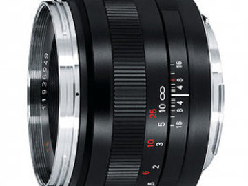Rent: Zeiss ZE 50mm f/2 Makro-Planar