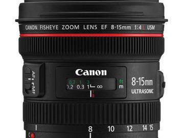 Rent: Canon 8-15mm f/4L