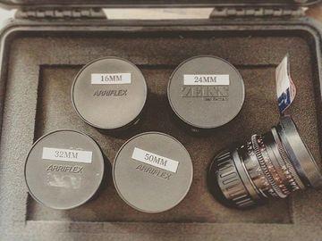Rent: Zeiss Standard Speed Mark II Lens Set