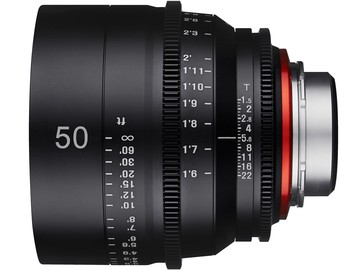 Rent: Rokinon XEEN 50mm T1.5 EF Cinema Prime