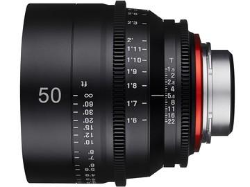 Rent: Rokinon XEEN 50mm T1.5 EF Cinema Prime