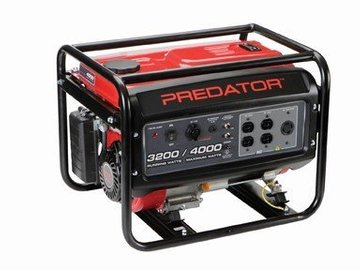 Rent: Predator 4000 Watt Peak/3200 Running 6.5 HP 212cc
