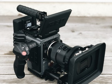 Rent: RED Scarlet-W Dragon 5K (Ready for Shooting)