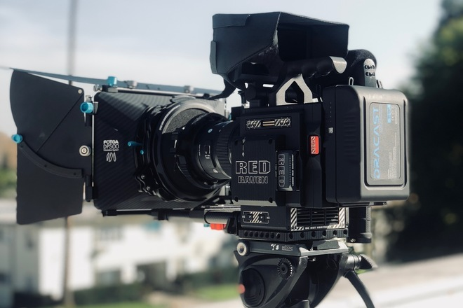 Red Raven Package 3.0 with Lens/Mattebox/Follow Focus/More