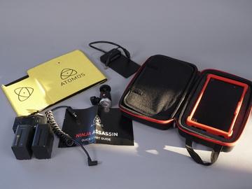 Ninja Assassin 7-in 4K Recorder w/accessories