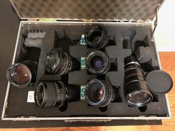 Rent: Zeiss Super Speed Mark II Lens Set