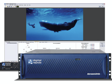 Rent: Digital Rapids StreamZHD enterprise web encoder