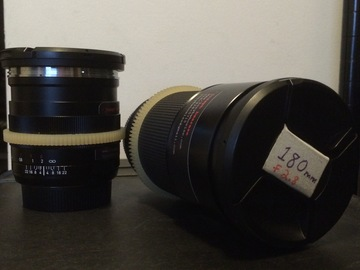 Rent: Zeiss ZE lens kit (EF mount w/ gears and 77mm threads)