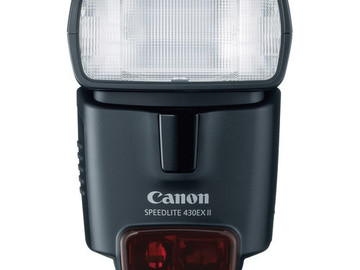 Rent: Canon Flash/Speedlite 430EX II
