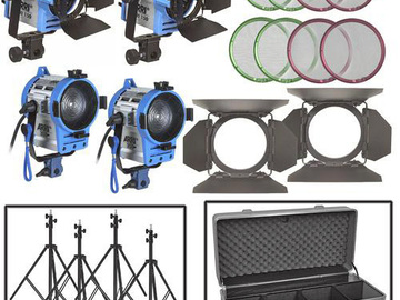 Rent: ARRI Tungsten 4 light kit 150/150/300/300