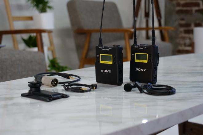Sony UWP Wireless Lavalier Mic