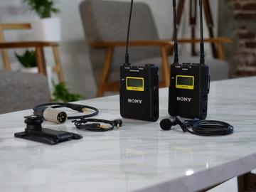 Rent: Sony UWP Wireless Lavalier Mic