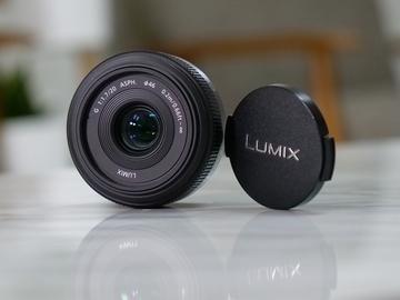 Rent: Panasonic LUMIX G 20mm f/1.7 ASPH Prime Lens