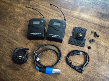 Rent: Sennheiser G3 Wireless Lav Kit