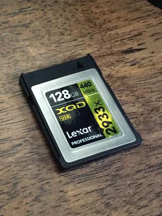 128GB XQD Card