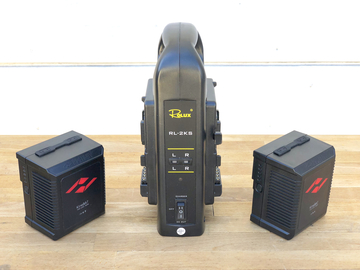 KineBAT-120W X2 V-mount Battery Set