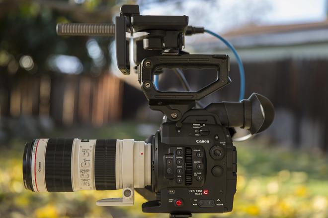 Canon EOS C300 Mark II w/ 24-70, 70-200, 16-35 L glass