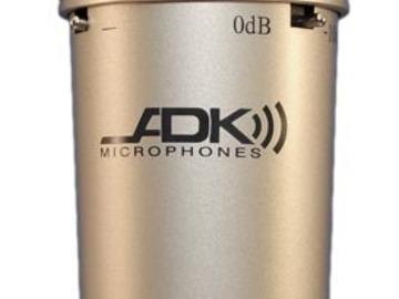 Rent: ADK s-51 Condenser Mics