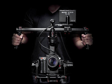 Rent: DJI CINEMILLED extended Ronin 3-Axis Gimbal with GRIP