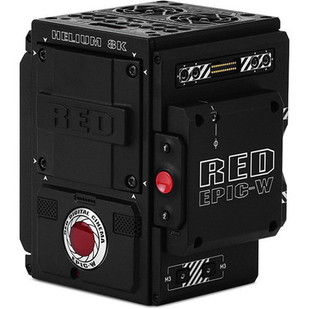 RED Epic-W Helium 8K S35 sensor with V-Mount back