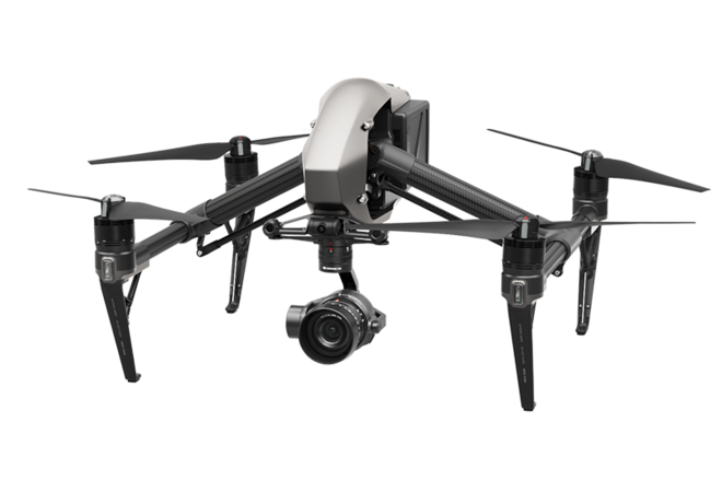 "DJI Inspire 2 Quadcopter Full kit  Crystal Sky Monitor 7""+"
