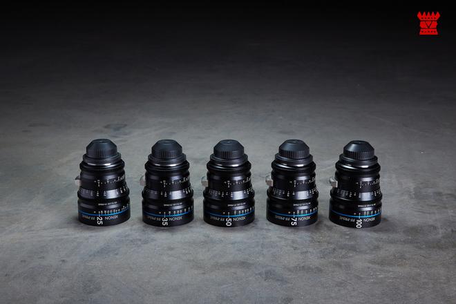 Schneider Xenon Prime Set (EF or PL Mount)