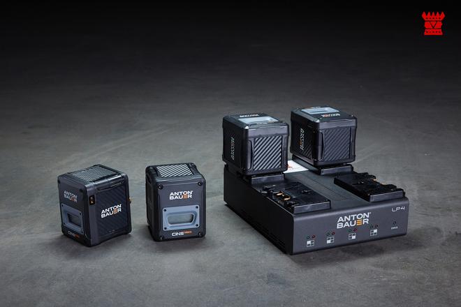 Anton Bauer Cine Series Batteries + Charge Station