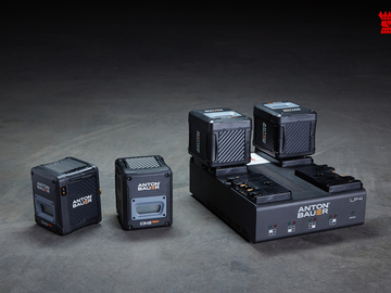 Rent: Anton Bauer Cine Series Batteries + Charge Station