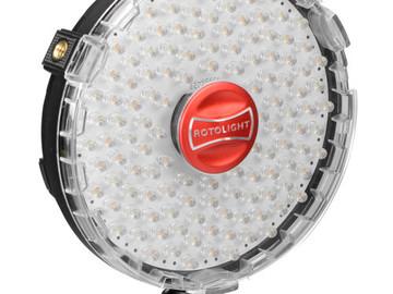 Rent: Rotolight Rotolight LED Ring Light On Camera