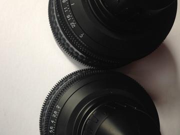 Rent: Sony Primes  35mm,50mm,85mm