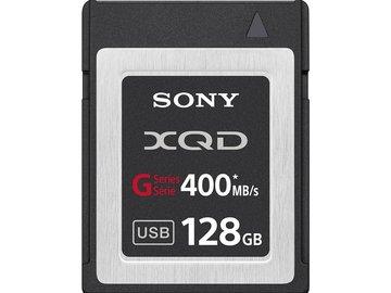 Rent: Sony 128GB XQD G Series Memory Card (400MB/s) (1 of 3)
