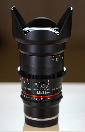 Rokinon Cine DS Lens 35mm T1.5 (Sony E-Mount)