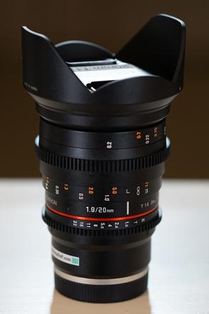 Rokinon Cine DS 20mm T1.9 (Sony E-Mount)