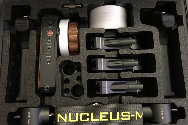 Nucleus-M Remote Wireless Follow Focus w/ 3 motors!
