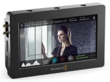 "Rent: Blackmagic Video Assist HDMI/SDI Recorder &  5"" Monitor"