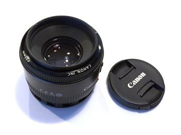 Rent: Canon EF 50mm f/1.8 II Camera Lens