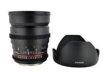 Rent: Rokinon 24 and 50mm